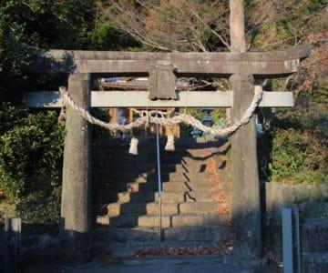生穂神社 鳥居