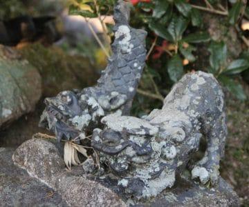 生穂神社 装飾瓦
