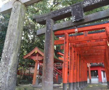瓢箪畑稲荷神社 鳥居