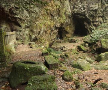岩戸神社 洞穴