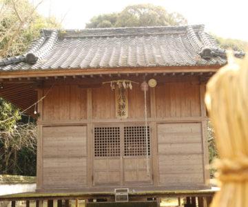 神代神社 拝殿
