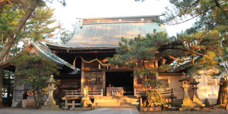 猛島神社 拝殿