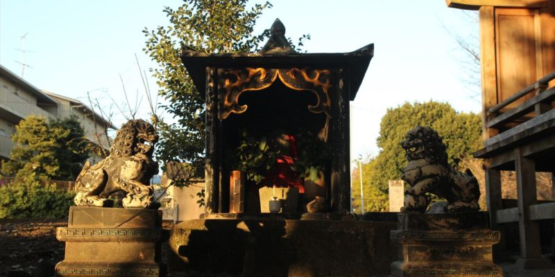 馬頭観音中原神社 石祠