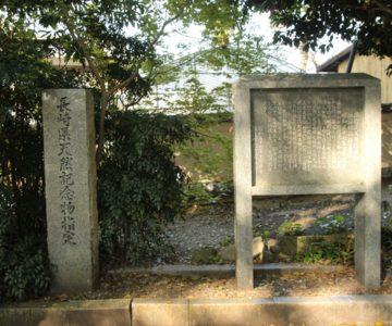 深江諏訪神社の社叢(そう)