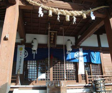 諏訪神社 拝殿