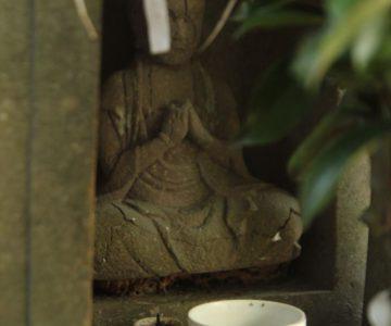 諏訪神社 石像