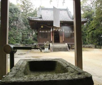 大野温泉神社 手水舎