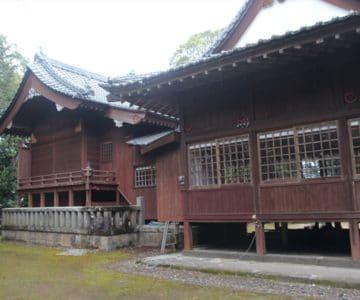 大野温泉神社 本殿