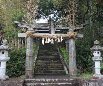 湯江温泉神社 鳥居