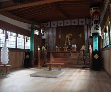 湯江温泉神社 幣殿