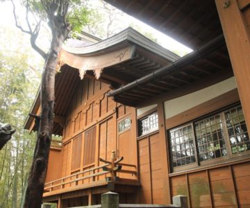湯江温泉神社 本殿