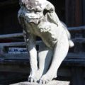 霊丘神社 狛犬