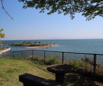 霊丘公園 長浜海岸