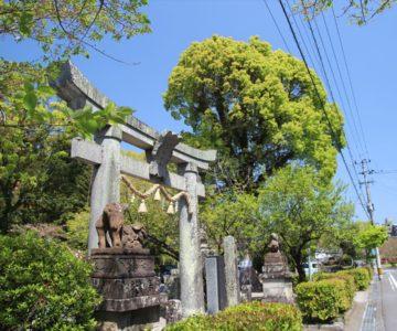 高城神社 鳥居
