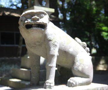吾妻温泉神社 狛犬