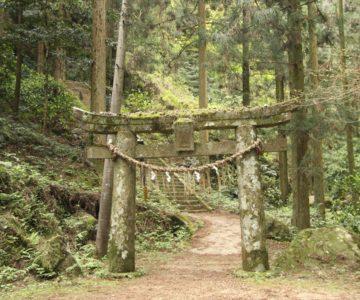 岩戸神社 鳥居