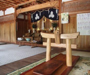 淡島神社 赤ちゃん用鳥居