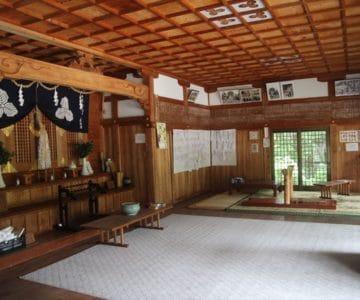 淡島神社 社殿内