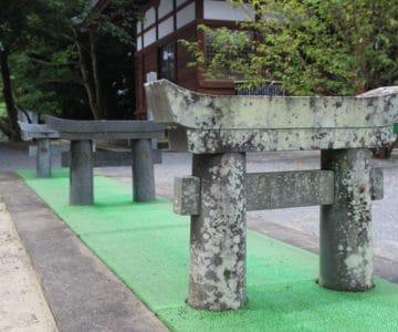 淡島神社 ミニ三連鳥居