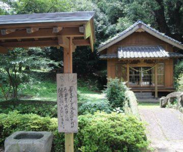 江里神社 手水舎