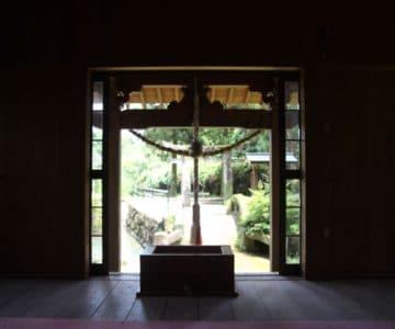 江里神社 拝殿