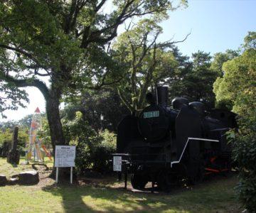 霊丘公園 機関車