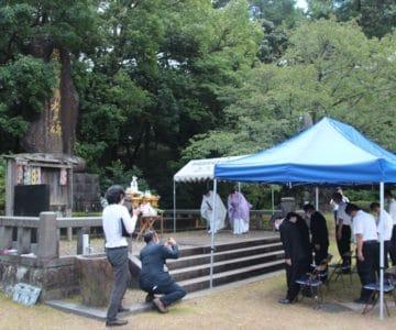 霊丘神社 原爆の日慰霊祭