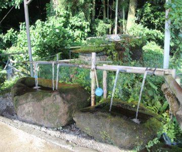 内野水源神社 水汲み場