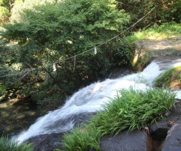 鮎帰りの滝 滝口