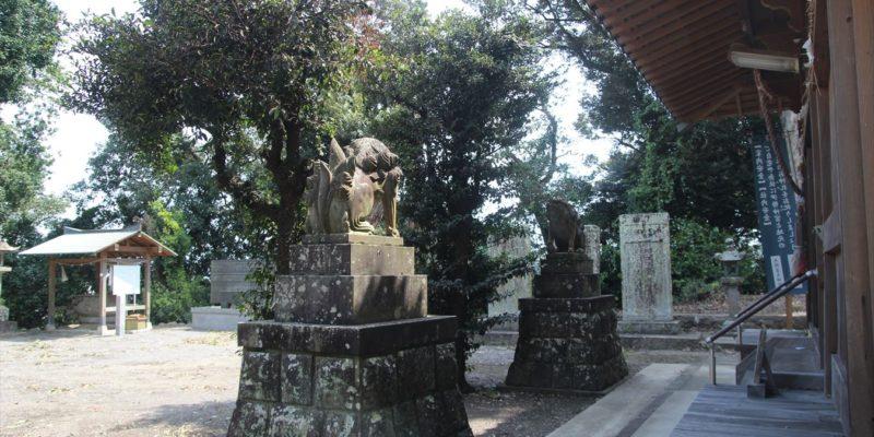 熊野神社 狛犬