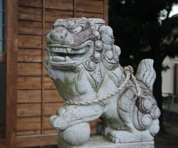 海神社 狛犬
