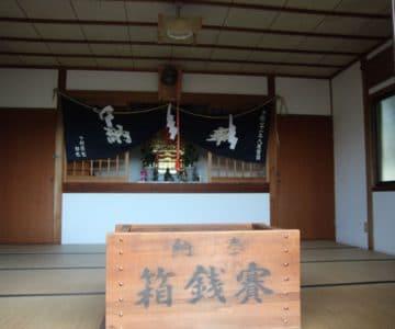 海神社 社殿