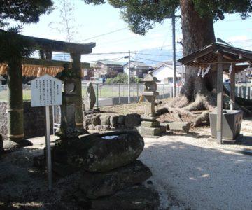 三会温泉神社 手水舎