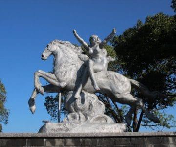 島原外港緑地公園 自由の女神