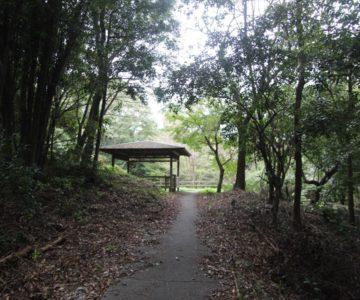 眉山の森遊歩道 あずまや