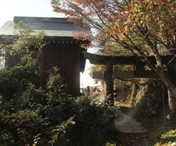 普賢岳登山 普賢神社拝殿