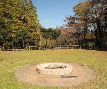 白雲の池 キャンプファイヤ広場