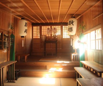 温泉神社 幣殿