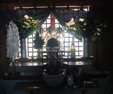 鳥兎神社 幣殿