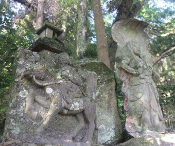 鳥兎神社 不動明王