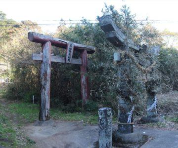 猿場稲荷神社 鳥居