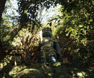 猿場稲荷神社 不動明王像