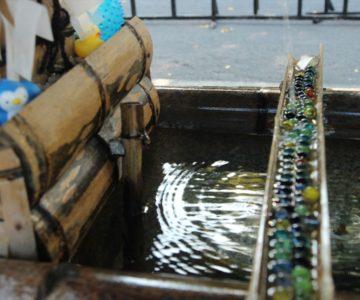 橘神社 手水鉢