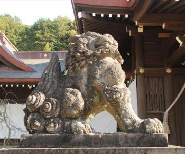 橘神社 狛犬