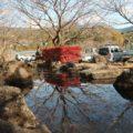 橘神社 池