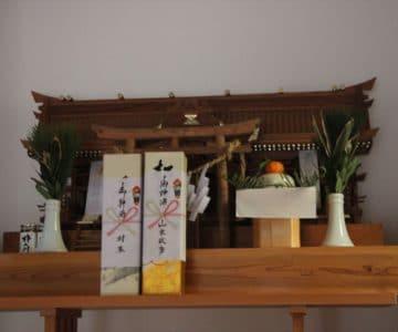 焼山神社 神棚