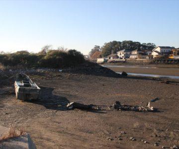 長浜海岸 放置船