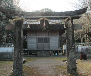 神代神社 鳥居