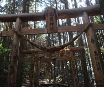高岩神社 鳥居