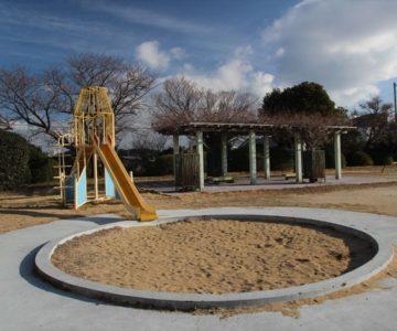 白山公園 砂場